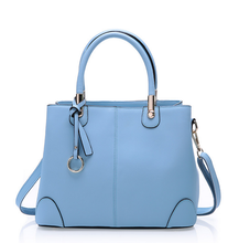 Fashion genuine cow leather bag women handbag