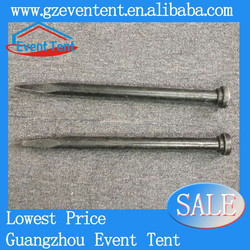 Large tent steel nails (Carbon steel, length from 500mm~1500mm)