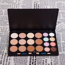 100% Brand New Makeup Palette 20 Color bare minerals Foundation Camouflage Concealer Professional make up Black Case