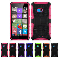 Shock Proof Heavy Duty Phone Case Cover For Microsoft Lumia 540