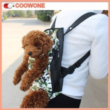 Washable Canvas Dog Backpack Carrier for Travel