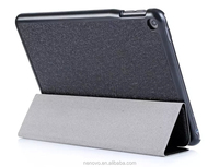 Deluxe Three Folding Ultra-thin Leather Stand Function Cover Tablet protector Case 7.9 Inch For NOKIA N1