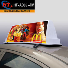 Advertising equipment led roof lights for cars