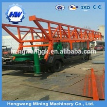 High speed 200m depth water well drilling rig for sale