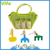 kids garden tool set with tote bag