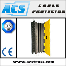 ACS Popular Heavy Duty 3 Channel Low Profile Cable Protector with Standard Ramp