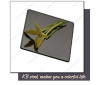 lowes sheet metal decorative super thin mirror finish black stainless steel sheet