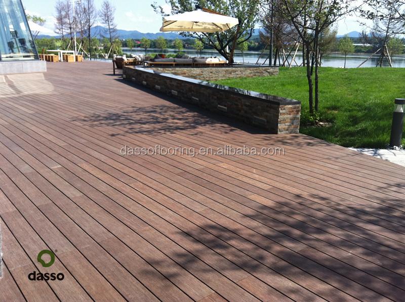 Dassoxtr Outdoor Bamboo Parquet Decking Tiles More Durable