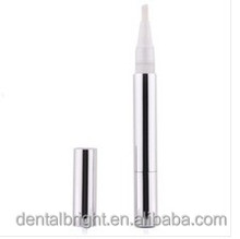 2015 Portable teeth whitening bleaching pen with plastic or metal