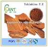 natural 98% pure yohimbine bark extract &yohimbine hcl powder