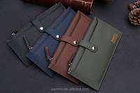 2015 New Promotion!Quality assurance wallet Lady's soft leather wallet Lady's leather lines purse/wallet for Lady