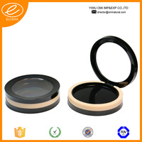 CPC-059 compact case with transparent lid round compact powder case