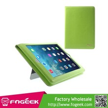 Fashion Flip Slim Light Smart Leather Case w/ Stand & Hand Strap for iPad Air