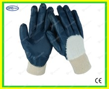 Different size for many size coated glove Women Garden Glove nitrile glove fit garden