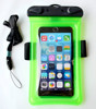 Universal PVC Mobile Waterproof Swiming Bag for 5.5 inch SmartPhone With Lanyard and Armbrand