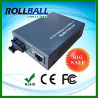 China Factory Supplier Hot selling dual fiber 10/100/1000M ethernet optical converter