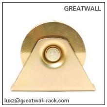 GREATWALL V Gate wheel with bracket for sliding, rolling, slide, gates inverted V track wheels