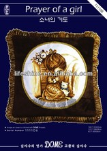 Exquisite cross-stitch hand embroidery design patterns creative pillow case