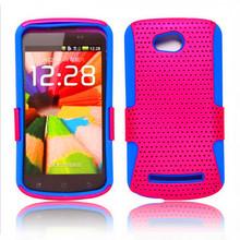 wholsale mobile phone case for nokia lumia 710, mesh back cover for nokia lumia 710
