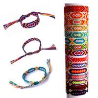 Handmade Multi-Colour promotion gift Colorful Braided Chram Friendship Bracelet