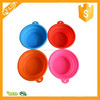 Non-toxic Silicone Pet Expandable/Collapsible/Foldable Travel Cup/Bowl Pop-Up Food & Water Feeder