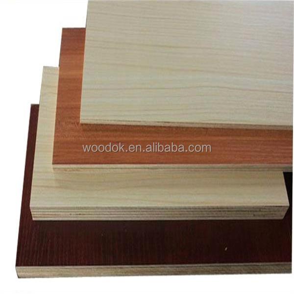 Joined Hardwood Laminated Board ~ E hardwood core white laminate plywood melamine