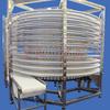 Bread Cake Cooling Vertical Spiral Conveyor/Stainless Steel Frame Screw Conveyor