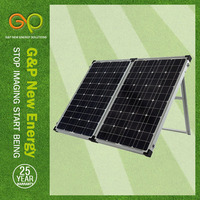 GP 160W Mono Foldable solar panel in high module eficiency for wafer carrier