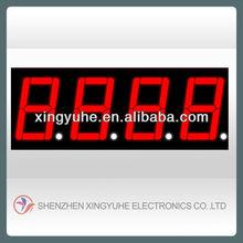 4 digit mini led display for gauge meter digital
