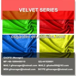 polyester knitted velour fabric dye discharge printing