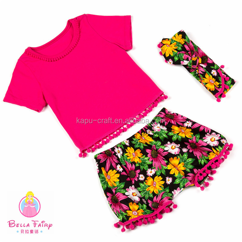 Wholesale Sweet Girl Brand Clothing Baby Girl Boutique