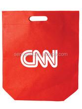 Hot sale die cut non woven bag, cheap non woven bag, die cut handle non woven shopping bag