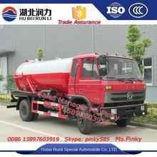 8000 litros vácuo combinação caminhão de Dongfeng caminhão de sucção de esgoto para vendas