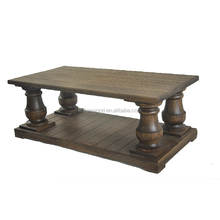 High Quality Factory Solid Wood Coffee Table , OEM Wood Coffee Table