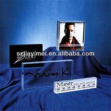 acrylic cheap photo frame holder