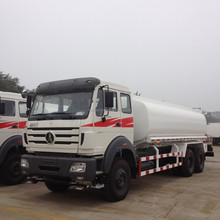 North Benz Beiben 6x4 20cbm water tanker truck capacity