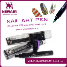 Zhejiang high quality cheap two way nail art penn ail polish pens