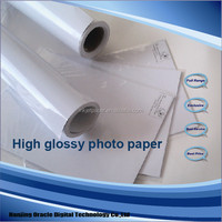 inkjet digital printing high glossy photo paper 260g a4 * 20 sheets per pack factory supplier