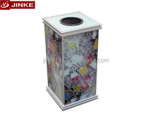 Manufacturer Advertising Indoor Trash Bin, Eco Aluminium Garbage Can High Quality