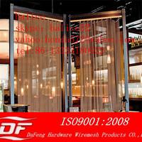 Metal Drapery or Metal Curtain Decorative Wire Mesh