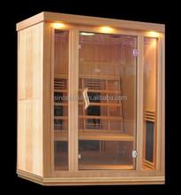 2015 Prefab Cheapest Ceramic Far Infrared Sauna Room, Sauna Cabin for Healthcare with CD player (CE/ETL/RoHS)