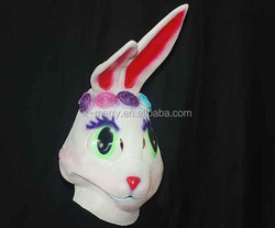 X-MERRY parade costume mask ideal for party dressup erected ear lovely Rabbit Bunny Mask