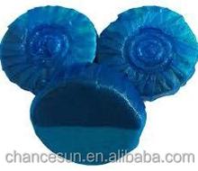 blue round fragrance bowl cleaner toilet freshener