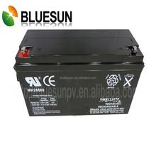 Maintenance-free agm/gel 12V 180AH high efficiency ISO CE UL alarm batteries