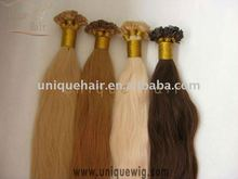 Best quality remy hair pre-bonded hair extension I tip hair