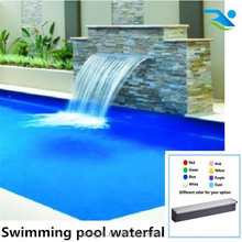 Plastic waterfall outlet for fashion swimming pool filter system