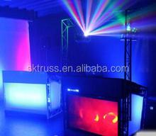 led vision curtain/video curtain/motion drape led/SD/dj booth/backdrops