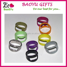 Creative Stainless Steel Ring Beer Bottle Opener /Variety Colors Ring Beer Bottle Opener Custom
