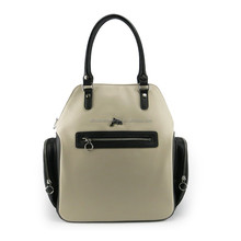 2015 high quality exported woman designer handbag luxury wholesale handbag with side pockets