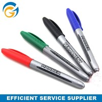 Colorful wipe clean permanent waterproof marker pen